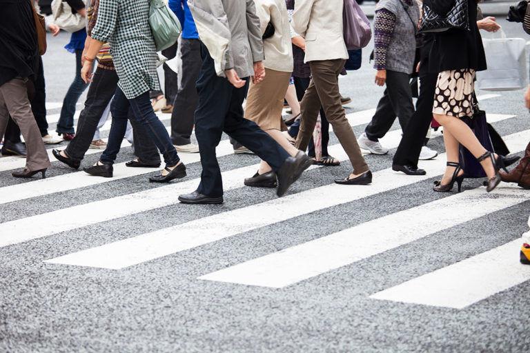 Pedestrian Stock